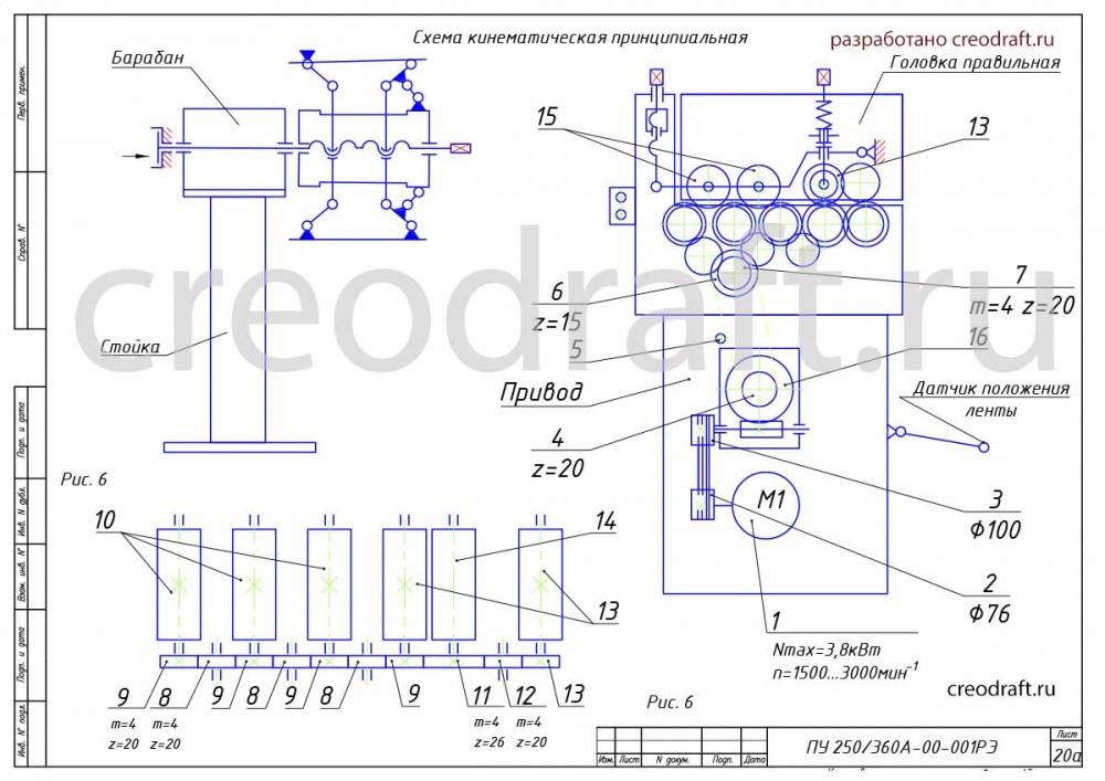 Оцифровка чертежей на заказ схема