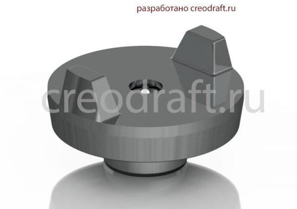 15b210-air-cap-for-graco-fusion-ap-3d-model