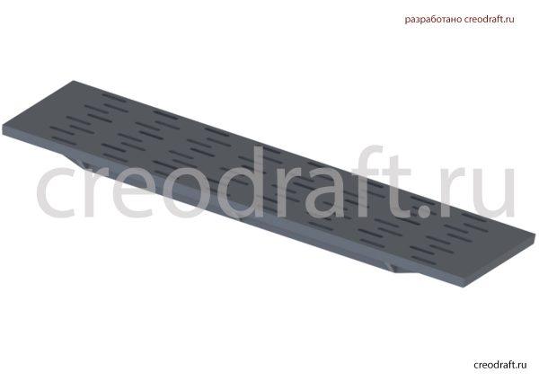 3д модель колосниковой решетки