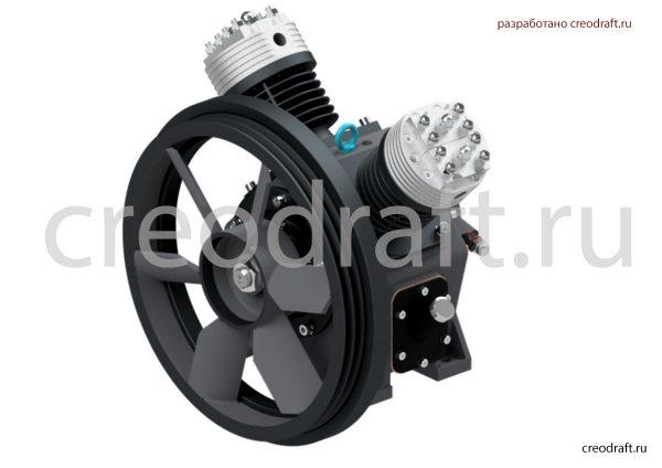 kompressor-3d-model