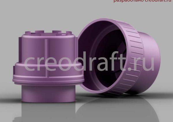 kryshka-plastikovaya-3d-model