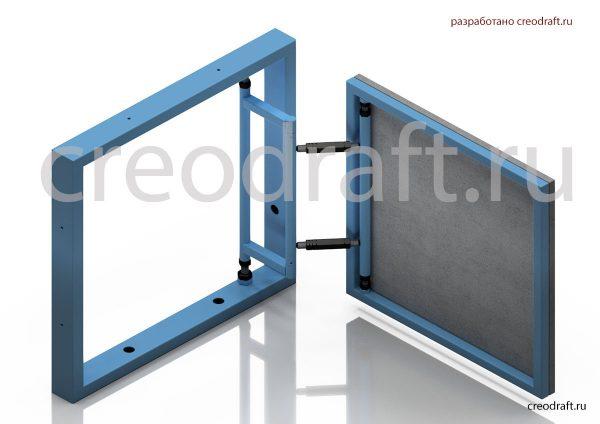 lyuk-revizionnyj-pod-plitku-3d-model