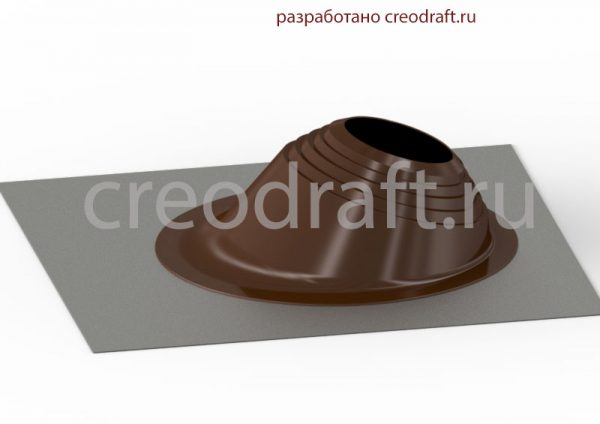 prohod-krovelnyj-dymohoda-3d-model